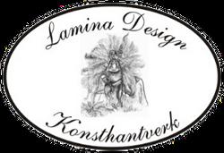 Lamina design, konsthantverk med ull, lammskinn, linne och trä
